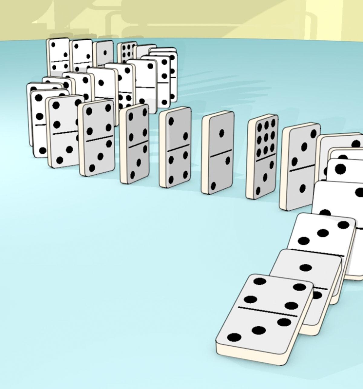Marketing banner image for Euler Hermes - The Domino Effect